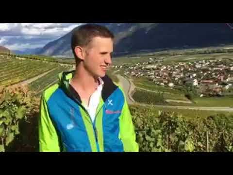 Interview de Xavier Ançay par Stève Léger au sujet du kilomètre vertical de Fully