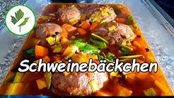 Geschmorte Schweinebäckchen in Rotweinsoße - Omas Rezept