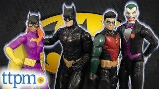 Batman Missions Stealth Suit Batman, Robin, Batgirl, and the Joker from Mattel