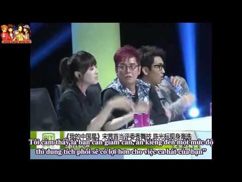 [Vietsub] 130604 f(x) Victoria - 'Superstar China' Judges Recording