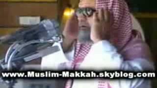 The Call To Prayer Adhan In Masjid Al Haram In Makkah