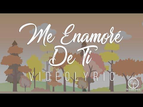 Octubre Doce  Me Enamoré De Ti Video