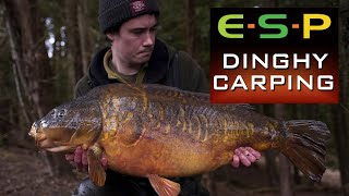 🎣 CARP FISHING FROM A DINGHY 🎣