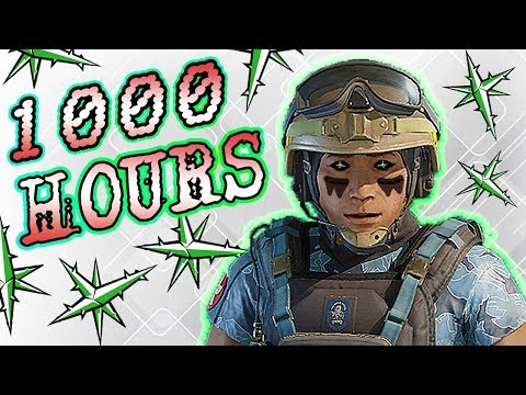 What 1000 HOURS of LESION Experience Looks Like - Rainbow Six Siege