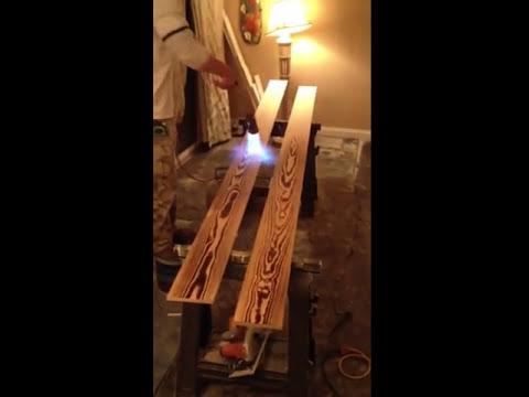 Burnt Wood Flooring