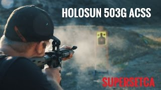 Primary Arms Holosun HS503G Red Dot ACSS