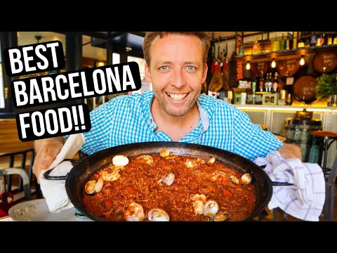 EPIC Barcelona Food Tour (10 AWESOME Stops!)