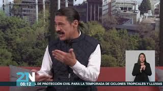 La Entrevista con Arnold Ricalde   Contingencia ambiental en la Ciudad de México