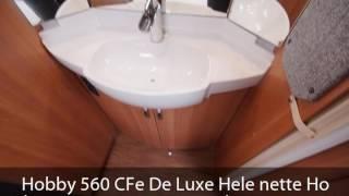 Hobby 560 CFe De Luxe Hele nette Ho