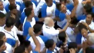 بالفيديو.. رئيس الوزراء الهندي يحتفل مع الملايين باليوم العالمي لليوجا