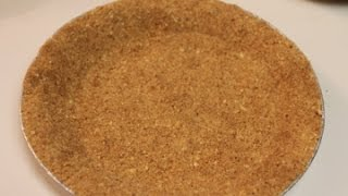 How To Make A Homemade Graham Cracker Pie Crust | I Heart Recipes