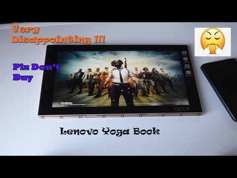 Lenovo Yoga Book YB1-X90l Review And Gaming | Android Master