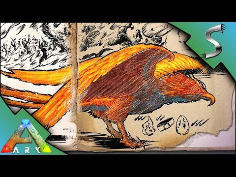 ARK PHOENIX DOSSIER REVEALED! HOW TO FIND & TAME! TEK BOW & HIVE CREATURE! - Ark: Survival Evolved