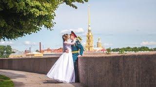 Свадебное слайд шоу Владимир  Алена в Санкт-Петербурге