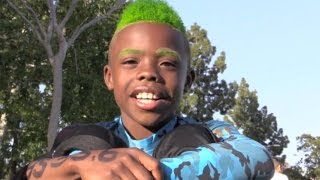 9 Year Old: Bunchie Young: Nation Titans: Los Angeles, CA.