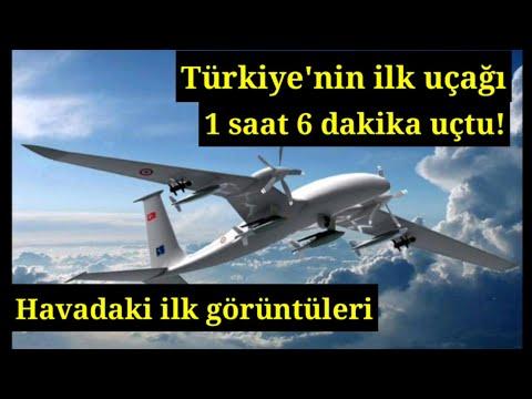İlk Defa Bu Kadar Net Görüntüler Paylaşıldı.Milli Yapım Bayraktar Insansız Savaş Uçağı...