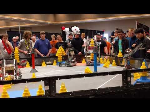 Vex Oklahoma State Championship 2018 (CV Tech team 2396b).