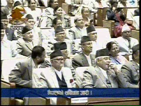 Final meeting of Nepal's Constituent Assembly that promulgated Nepal's Constitution 2072