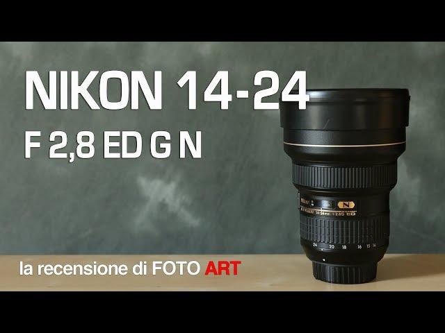 Nikon 14-24 f 2,8 zoom grandangolare recensione e test