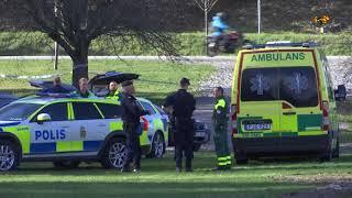 Misstänkt mord - kvinna hittad död i park