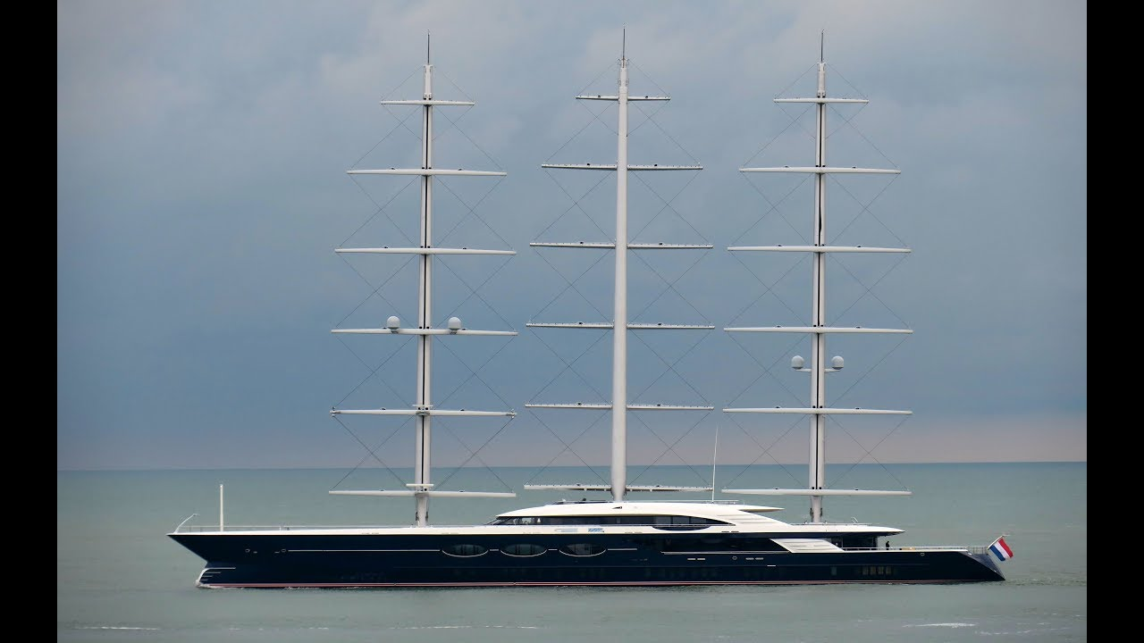 Ocanco S 106m 347 9 Sailing Yacht Black Pearl Is Nearing Her Delivery