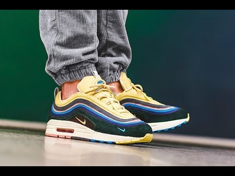af8b38d418eb97 Nike Air Max 1 97 VF Sean Wotherspoon Unboxing and Review - YouTube