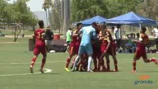 Real Salt Lake-Arizona Academy U-17/18 vs. Shattuck-Saint Mary's Highlights | July 7, 2015
