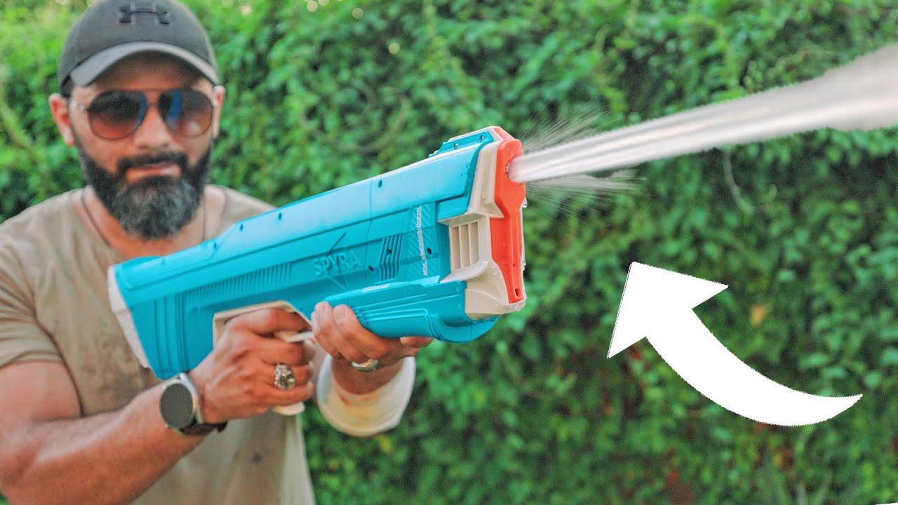 مسدس ماء ضغط عالي سلاح حقيقي