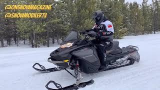 2022 Ski-Doo Mach Z 900 ACE Turbo R with Smart Shox & Launch Control