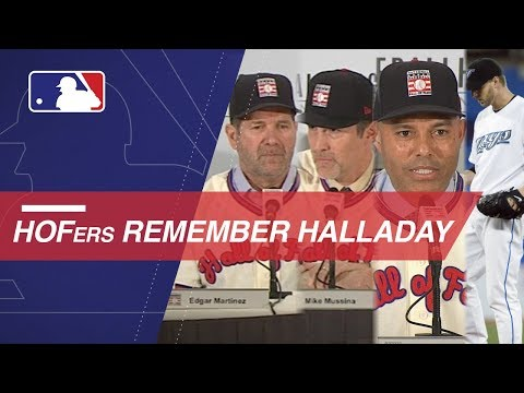 Mariano Rivera, Mike Mussina, Edgar Martinez remember Roy Halladay