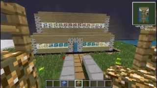 Türkçe Minecraft - Kasabamızı yapıyoruz Bölüm 1 | Rasimin Evi