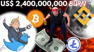 BINANCE will BURN 40% of the total BNB, Donald Trump has NO EFFECT on BITCOIN - Crypto News