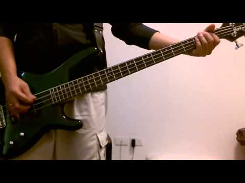 U can do it (Domino) bass cover