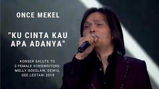 Download lagu Once Mekel Ku Cinta Kau Apa Adanya