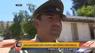 Canal 13 - EXTRA - Hallan cuerpos en el cerro Provincia