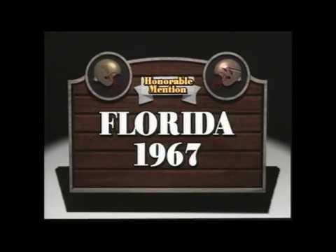 1967 Florida State vs florida Highlights