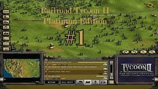 Railroad Tycoon II [HD] [ENGLISH] Walkthrough Mission #1 The Iron Seed Part #1/1