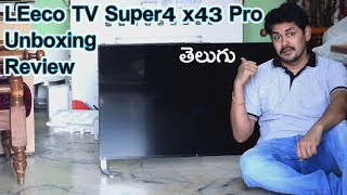 LEeco UHD TV Super4 x43 Pro Android TV Unboxing | in Telugu | Tech-Logic