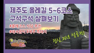 [용's 부부] 제주 올레길 5~6코스 ♬ #올…