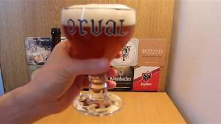 Orval Belgian Trappist Beer review 6.2%