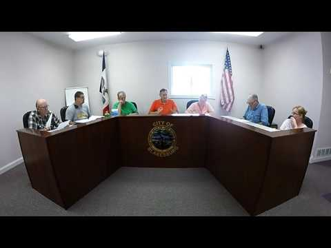 Blakesburg City Council 061316