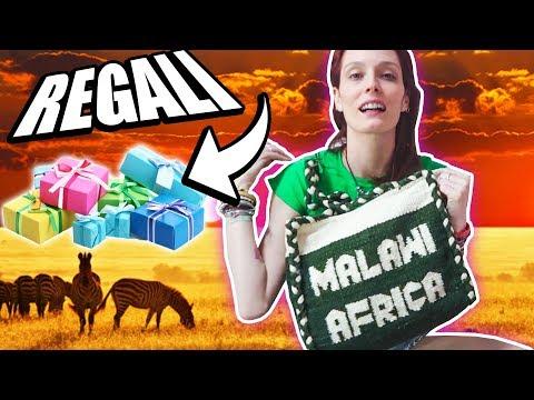 Tutti i REGALI dal Malawi che ho portato! Anche per voi!!