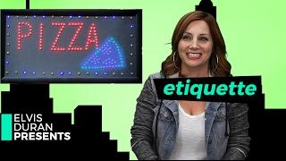 ELVIS DURAN PRESENTS: Etiquette | #EDP