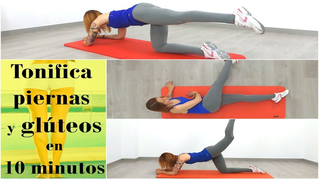 ejercicios para piernas y glúteos sin perder peso