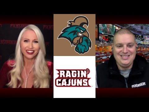 No. 21 Louisiana Ragin' Cajuns vs. Coastal Carolina football video ...