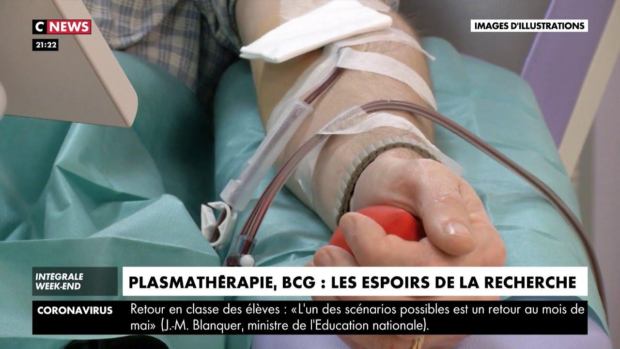 Plasmathérapie, BCG : les espoirs de la recherche