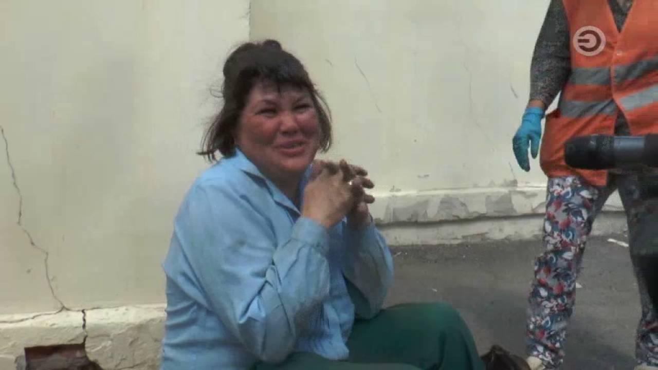 Последствия аварии 23.11.2016 9 вечера Казань Сибирский тракт