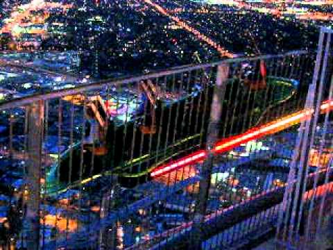 Las Vegas Stratosphere X Scream Ride At The Stratosphere ...