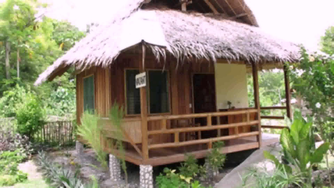 Small native house design in the philippines youtube for Home design philippines small area