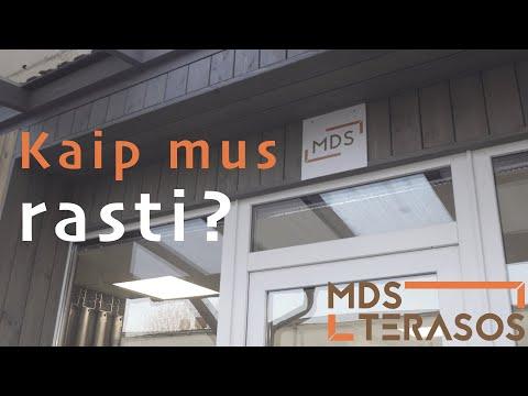 MDS Terasos - kaip mus rasti?